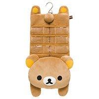 *凱西小舖*日本進口SAN-X正版Rilakkuma懶懶熊造型掛勾收納袋