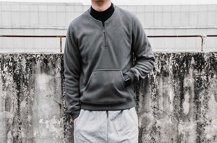 【NoComment】美式休閒 街頭潮流 素面百搭絨毛套頭素面長袖 八色 多尺寸 Uniqlo Nike