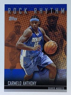 2004-05 Topps Rock Rhythm #RR-CA Carmelo Anthony Nuggets