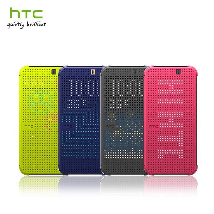 HTC One E9+ dual sim/E9 Plus/E9 (HC M221) Dot View 原廠炫彩顯示保護套