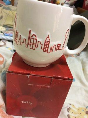 西堤 TASTY 城市馬克杯 陶瓷杯