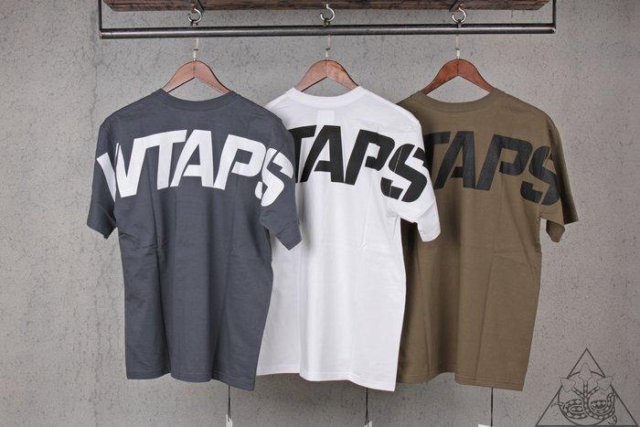 【HYDRA】Wtaps Stencil Tee 大字體 Logo 純棉 短T【WTS124】