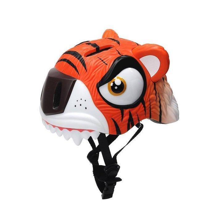 ☆║♥愷心小舖♥║☆ 兒童安全保護新款 老虎頭盔 可拆洗 自行車 安全帽 騎行頭盔護具