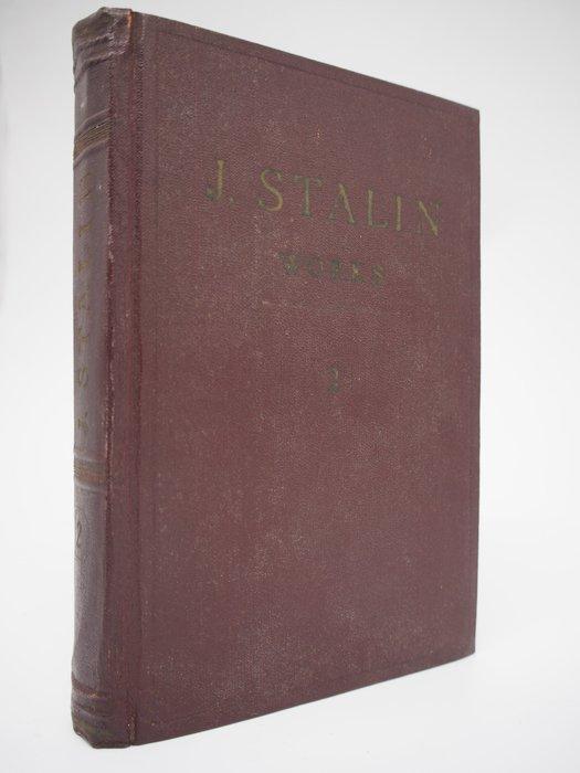 【月界】J. STALIN-works volume 2:1907~1913(絕版)_史達林_1953年 〖政治〗BAA