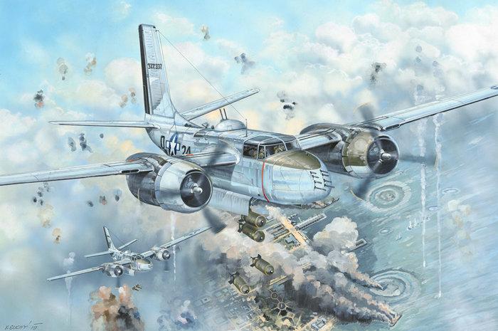 HobbyBoss 1/32 83213 A-26B Invader 入侵者式 攻擊 / 轟炸機