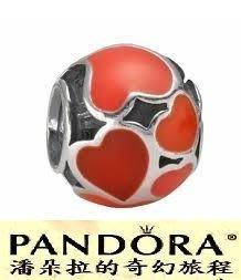 潘朵拉我最便宜{{潘朵拉的奇幻旅程}} PANDORA Red Hot Heart 火熱的心 790436ER