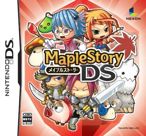 NDS 楓之谷 DS (Maple Story DS) 純日版 全新品