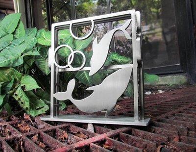 ☆成志金屬☆設計師款*獨特質感的不鏽鋼...