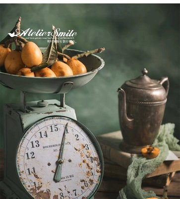 [ Atelier Smile ]  鄉村雜貨 日本直送 復古作舊 古董秤  拍照道具 ins 靜物攝影 櫥窗道具 免運