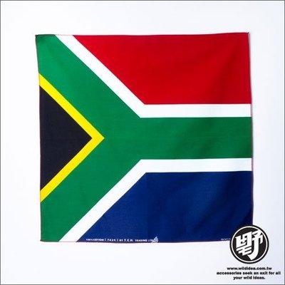 【野點子 Wild Idea】南非國旗頭巾- 頭巾‧方巾‧手帕‧領巾