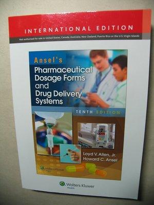 33 藥劑學 Ansel's Pharmaceutical Dosage Forms and Drug D S 第10版