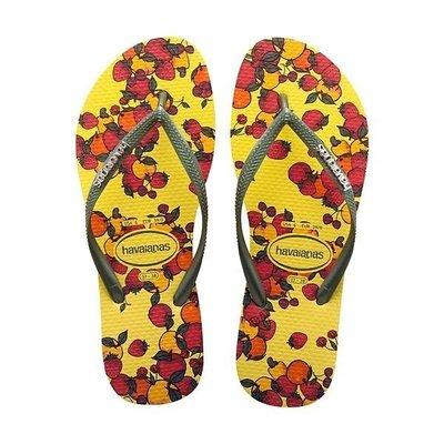 巴西拖鞋 havaianas – Slim Fruits - 細帶 珠光 水果 /夏日必備鮮豔亮麗!39/40只有一雙!