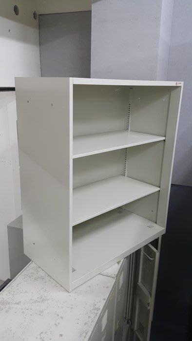 樂居二手家具*C1112AJJ 開放式3尺鐵櫃*無門鐵櫃 文件櫃 公文櫃 OA鐵櫃 二手辦公家具買賣/辦公桌/會議桌