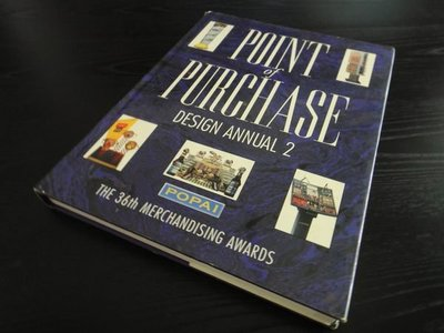 POINT of PURCHASE DESIGN ANNUAL 2 (原文設計書)