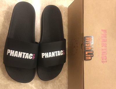 黑11周杰倫 全新 PHANTACI SANDALS-WHITE 黑白 拖鞋