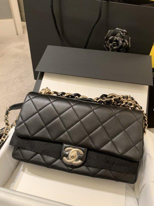 Chanel AS1354 大型口蓋包 黑