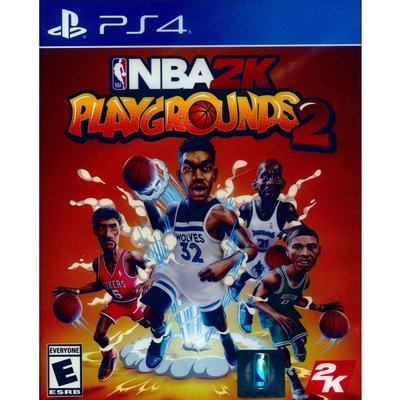 (現貨全新) PS4 NBA 2K 熱血街球場 2 中英文美版 NBA 2K Playgrounds 2
