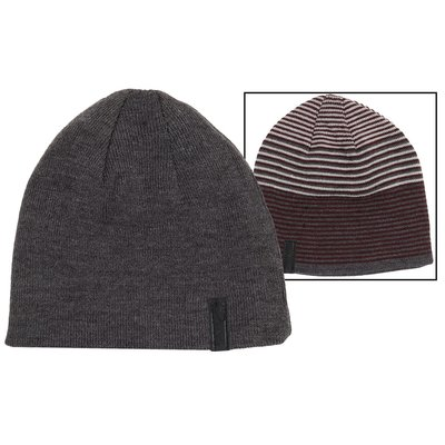 【Calvin Klein CK 】100% 全新正品 秋冬新品 CK LOGO 雙面可用 中性 毛帽 *CKH02*