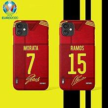 2020歐洲國家杯系列 – 西班牙國家隊主場款式球員手機殼