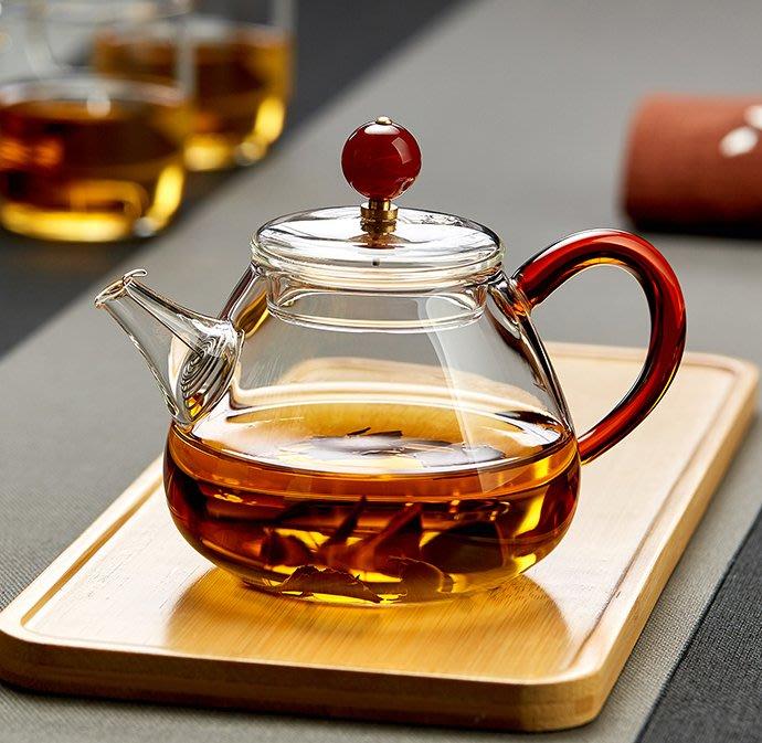 預售款-LKXD-泡茶壺耐熱過濾花茶家用加厚玻璃紅茶泡茶器小號功夫茶具