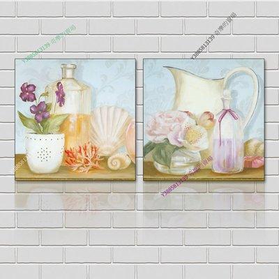 【70*70cm】【厚2.5cm】花卉-無框畫裝飾畫版畫客廳簡約家居餐廳臥室牆壁【280101_237】(1套價格)