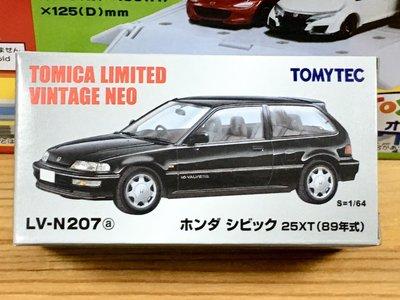 TOMYTEC LV-N207a Honda CIVIC 25XT (黑)
