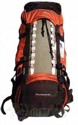 【山野賣客】EYE 098 / 90L mountaintop登高者 登山背包 長程背包 重裝背包 自助旅行背包 EYE