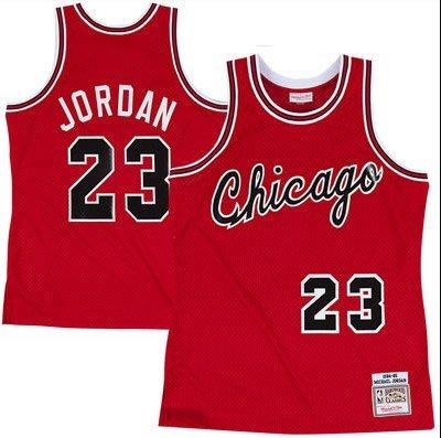 NBA JORDAN M&N 芝加哥 公牛隊 新人年 球衣 Mitchell & Ness