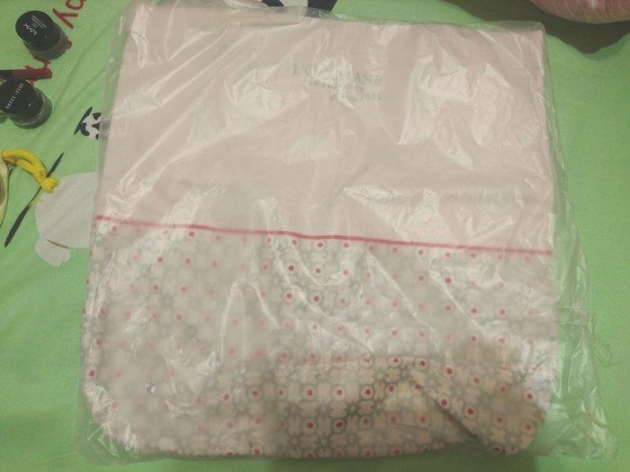 歐舒丹L'Occitane購物袋袋兩款現貨(粉紅花紋/彩虹甜甜圈)