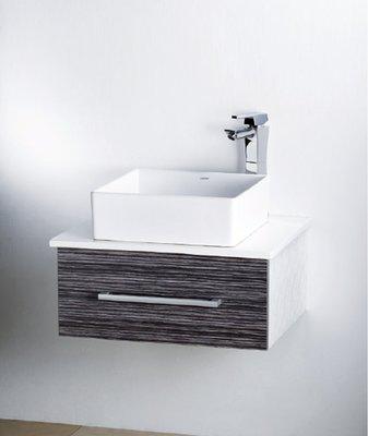 凱薩LF-5252高級浴櫃+日本精密陶瓷芯龍頭`優惠中速洽東華衛浴.實體門市安心選購