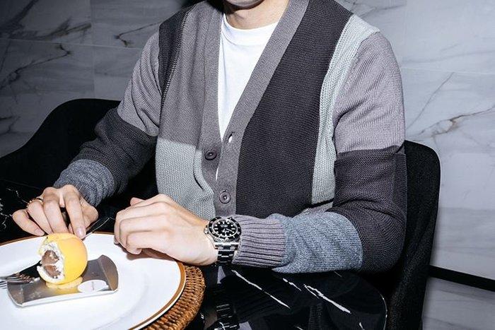 【NoComment】韓系時尚休閒 質感簡約 復古撞色拼接風格開襟襯衫 兩色 ZARA LV