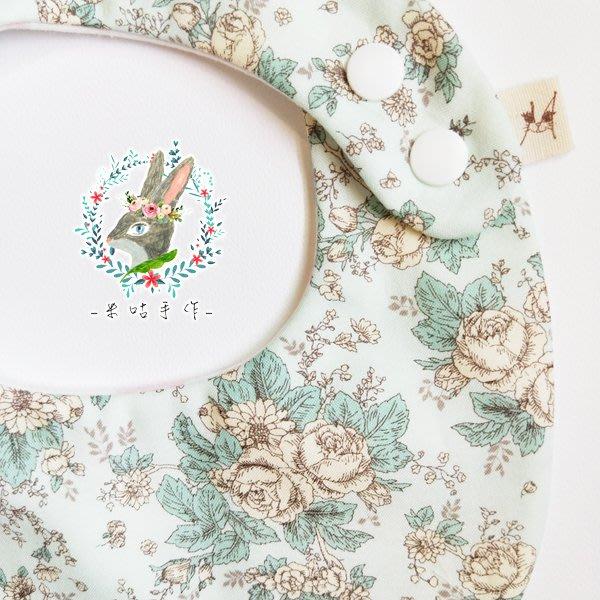米咕手作 △ 寶寶六重紗 圍兜兜 / 口水巾 / 領巾 |小清新花園|