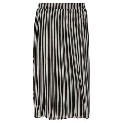 beautiful striped midi pencil skirt dress top blouse h m 靚收身顯瘦間條及膝裙 半截裙 中長裙 襯衫