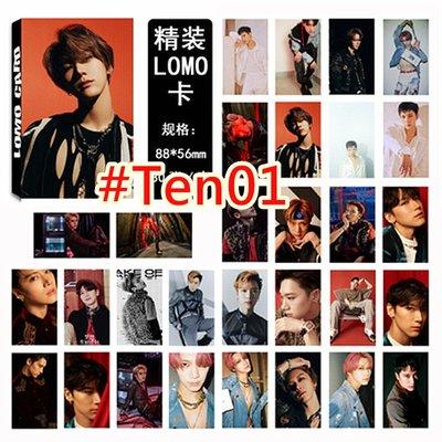【首爾小情歌】NCT 127 LOMO卡 TEN 個人款 小卡組 30張卡片組  應援#01