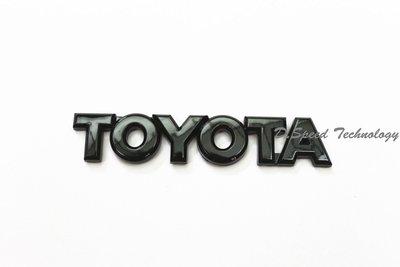 豐田TOYOTA 86 GT86 Scion FRS FR-S TOYOTA車標(亮黑色)