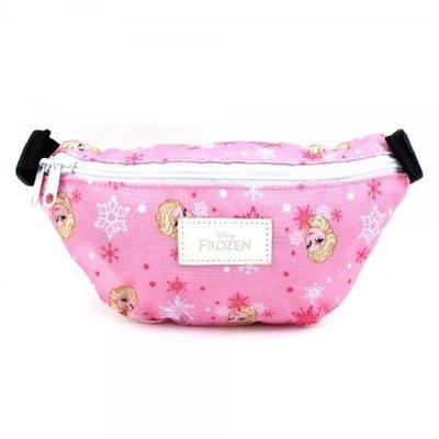 ♀高麗妹♀韓國 Disney FROZEN II 冰雪奇緣2 幼童 粉色腰包/也可斜背當小背包.可調式腰帶(預購)