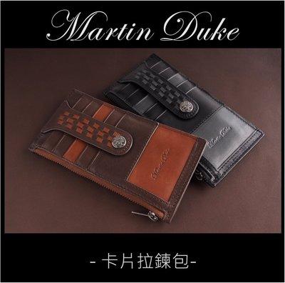 Martin Duke 真皮卡片拉鍊包...
