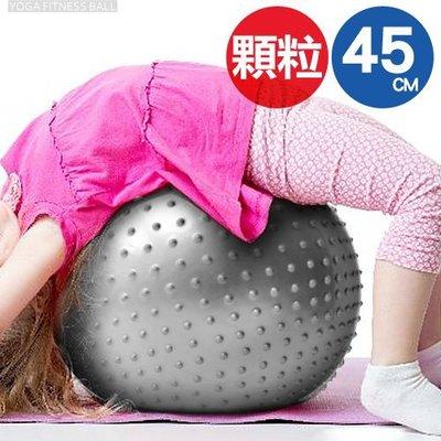 哪裡買⊙45cm按摩顆粒韻律球C109-5207 瑜珈球抗力球彈力球.健身球彼拉提斯球體操球復健球大球操運動用品健身器材