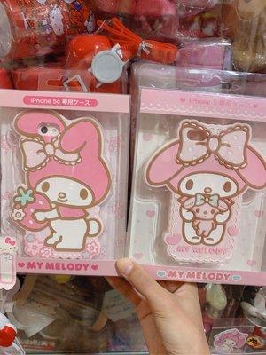 三麗鷗 kitty 美樂蒂 矽膠手機殼 iphone5手機殼 出清 賠售 特價 正版商品