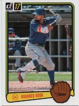 ^.^飛行屋(全新品)美國職棒 MLB-德克薩斯遊騎兵隊-RV-37 Rougned Odor 球員卡(棒球卡)