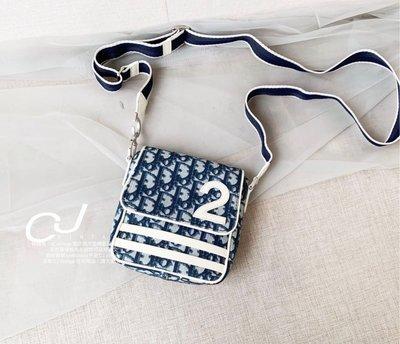 ✨CJ Vintage✨日本二手正品Dior藍老花數字mini相機包