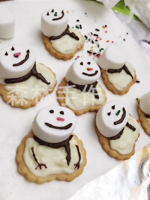 「BB Cookie森林手作」手工餅乾/聖誕造型餅乾/Hand made 健康無添加餅乾/雪人餅乾