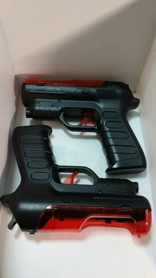 SONY PlayStation PS3 Move pistol光線槍殼 魔法棒 體感手把 左右手 槍托 槍架 VR PS4 極新現貨