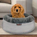 【代購屋】Costco 好市多 代購 Kirkland Signature 科克蘭 24吋圓形寵物睡窩(全新)/狗寵物床