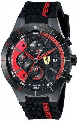 Ferrari Rev Evo賽車錶(紅色)