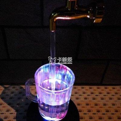懸浮擺件 抖音網紅創意神奇魔法懸浮水龍頭水杯燈情人節水杯懸空燈擺件 全館免運