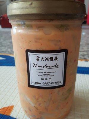 純手工台式黃金泡菜,比韓式泡菜更好吃~1瓶200元,滿2000元以上免運