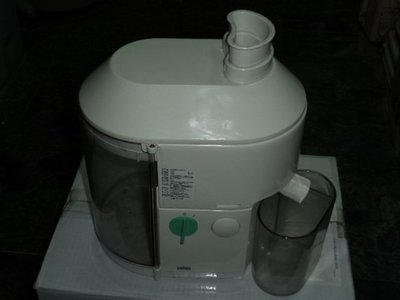 德國百靈 BRAUN MP80 果菜榨汁機.....捷克製造