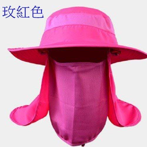 多功能漁夫帽 抗UV 可拆 釣漁帽 遮陽帽 沙灘帽 防曬帽 機車 釣魚 烤肉 登山 攝影 沂軒精 品 I0002