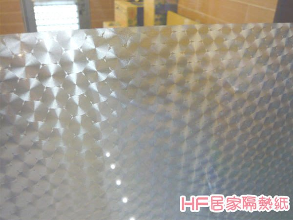 (HF居家隔熱紙) 822圈圈紋 玻璃貼紙 防水窗貼 窗簾 門簾 浴簾紙 落地窗 室內設計 玻璃櫥窗
